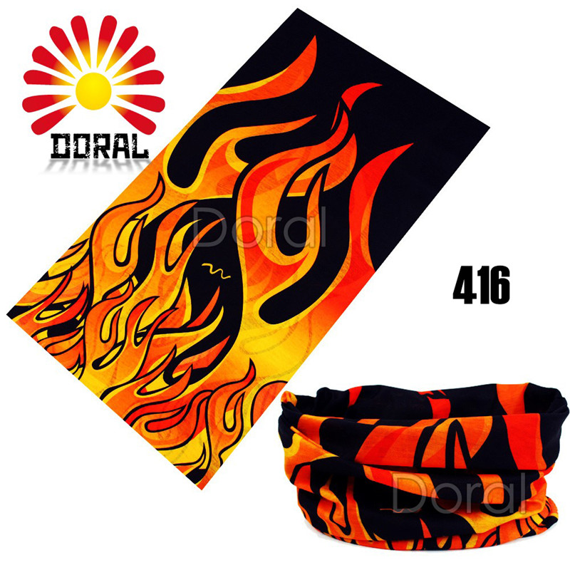Fashion Style Motorcycle Hijab Fish Bandana Ski Sport Headwear Scarf Seamless Unisex Mask Cap For Men