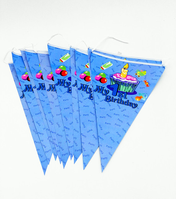 Prince Banners Pink Floral Banners