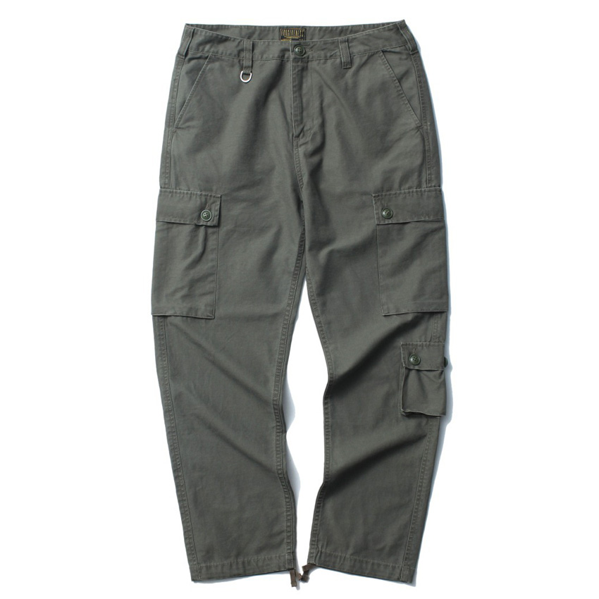 Mens Loose Cargo Pants Spring Brand New Men Casual Military Army Cotton Pant Trousers
