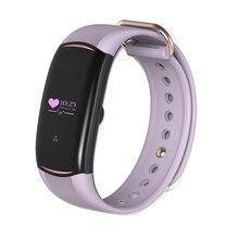 Монитор сердечного ритма крови кислородом Браслет фитнес-трекер активности часы для IOS Android Xiaomi мобильных Дамы Смарт-браслет
