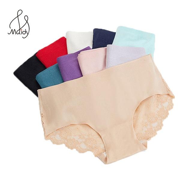 08a6bcac69a37 Maidy Sexy Lace Panties Seamless Women Underwear Briefs Nylon Silk For  Ladies Bikini Cotton Transparent Lingerie 3 Pcs Set