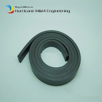 1 meter Plastic Soft magnet for Advertising Teaching frige magnet Width 10xthickness 5 mm for Notice Board Toy magnet