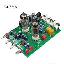 Lusya Bluetooth 4.2 Hifi 6J5 Tube Amplifiers Audio Board NE5532 Preamplifier Tone Board with Volume Adjustment 6n4 3 6z4 1 tube preamplifier board reference to marantz 7 circuit