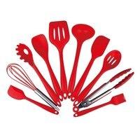 New 10pcs/set Nonstick Cookware Set Food Grade Silicone Kitchenware Heat Resistant Cooking Tools Kitchen Accessories Kitchen Set