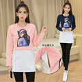 Autumn Maternity clothes T-shirt Maternity tops nursing clothes nursing Breastfeeding Tops Pregnant Women Long Sleeve fashion