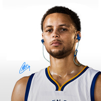 JBL Reflect Mini BT Stephen Curry Signature Edition Lightest JBL Bluetooth Sport Headphones