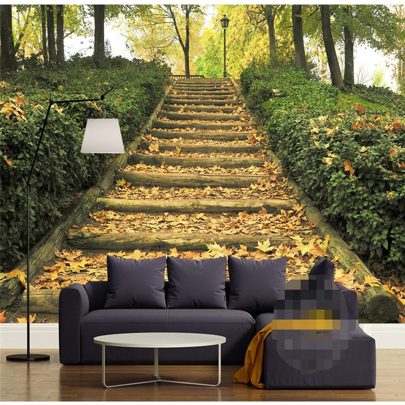 Beibehang Mural Wallpapers Home Decor 3D HD Parks Terrace ...