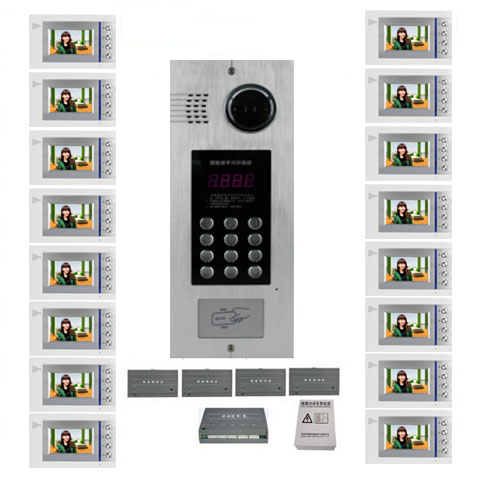 Back To Search Resultssecurity & Protection Smart Xinsilu Building Home Security Video Intercom System Video Door Phone Decoder For Home Building Video Doorbell Apartments Access Control