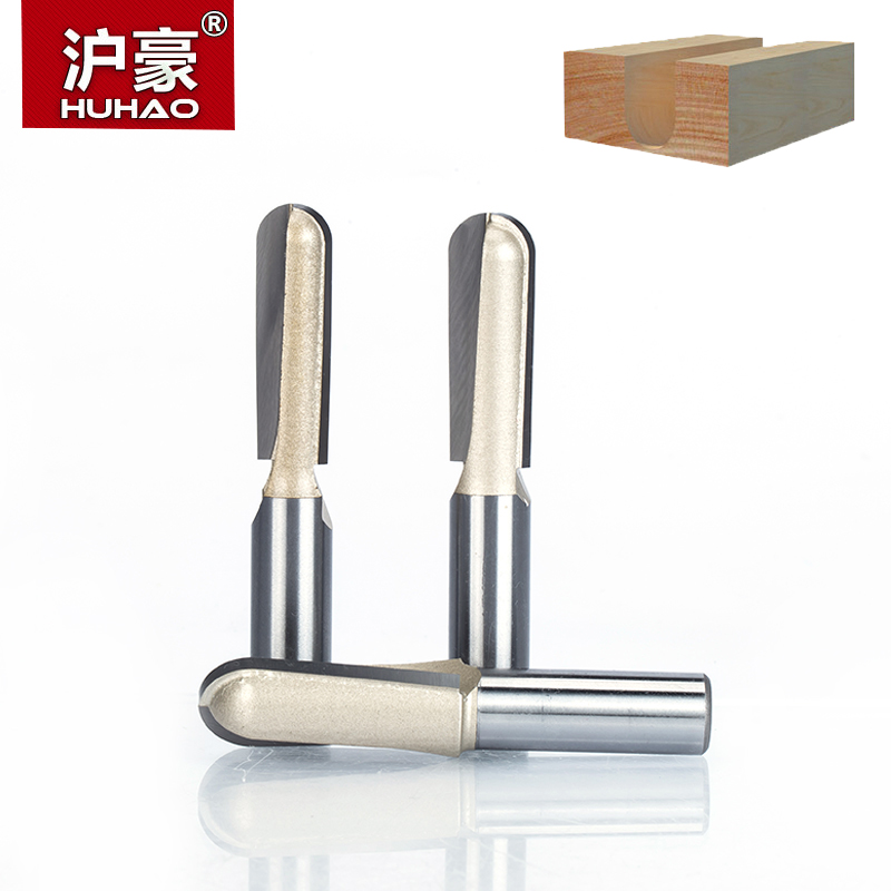 HUHAO 1pc  1/2 Shank Round Nose Router Bit Cove Box Woodworking Cutter Tungsten Carbide Router Bits for Wood Endmill 1 4 3 16 hss milling bits shank round nose cove core box router bit shaker cutter tools for woodworking tideway 3296