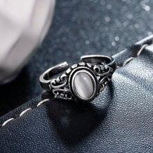 Женское кольцо с натуральным опалом в стиле ретро из тайского