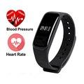 M8 Inteligente Pulseira Bluetooth 4.0 Heart Rate Monitor de Oxigênio No Sangue de Pressão Arterial Monitor de Sono Inteligente para Android iOS