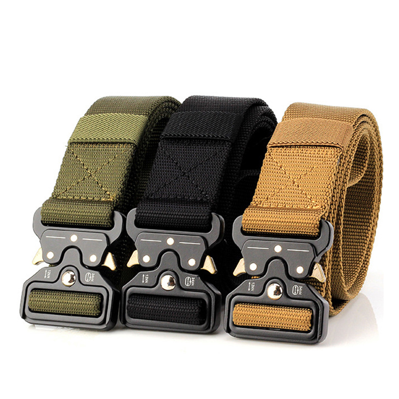 High Quality HipHop Street Wear   Belt   Rollercoaster Metal Button Canvas For Women Men Safety   Belts   Fashion Rollercoaster