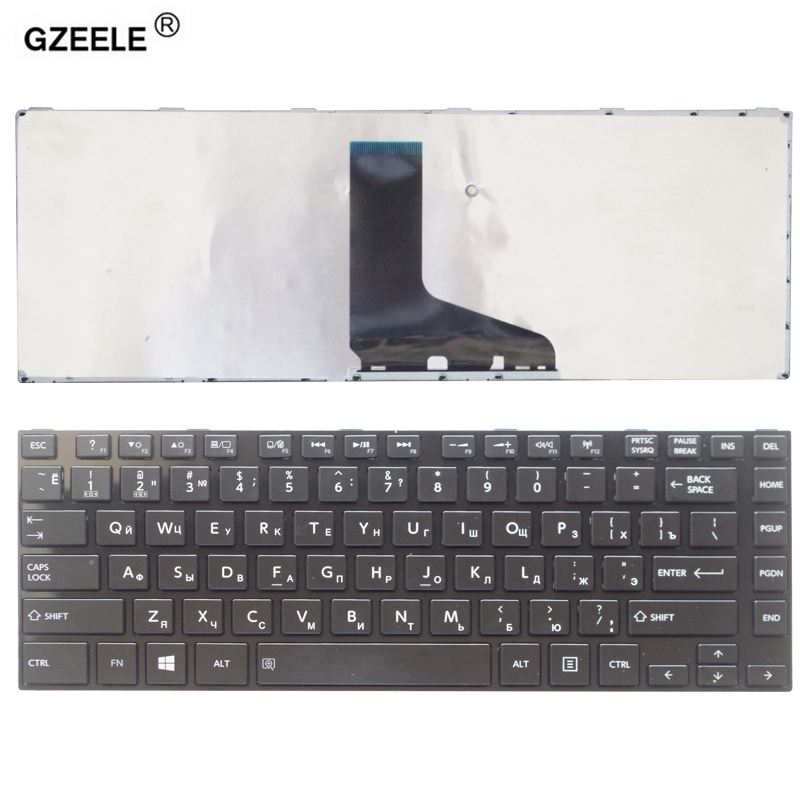 GZEELE Russian Laptop Keyboard For Toshiba Satellite L800 L805 L830 L835 L840 L845 P840 P845 C800 C840 C845 M800 M805 M840 RU