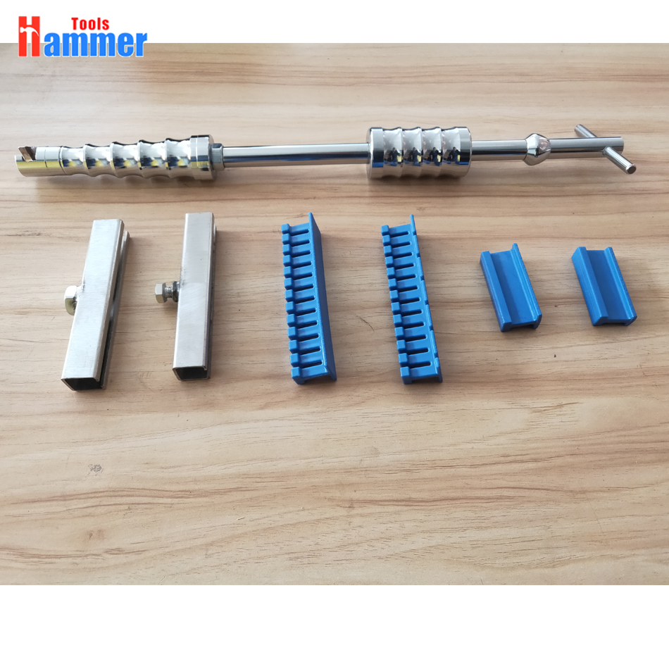 Slide hammer with blue glue tabs Auto Body Paintless Dent Removal Repair Tools Kits Dent Lifter tools Slide hammer with blue glue tabs Auto Body Paintless Dent Removal Repair Tools Kits Dent Lifter tools