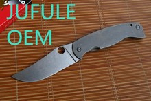 JUFULE OEM C185 FARID K2 Folding Blade Knife CPM-10V Blade Titanium Handle Tactical Camping Survival Hunting Knives Outdoor Tool