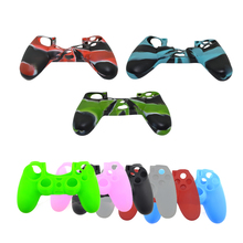 10PCS 9 Color Silicone Protective Skin Cover Case Shell for Playstation PS4 Play Station PS 4 Dualshock 4  Controller gamepad