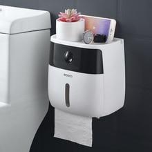 LF82003 держатель для туалетной бумаги творческий пластиковый держатель для ванной туалетной бумаги настенный коробка для хранения бумаги держатель для туалетной бумаги