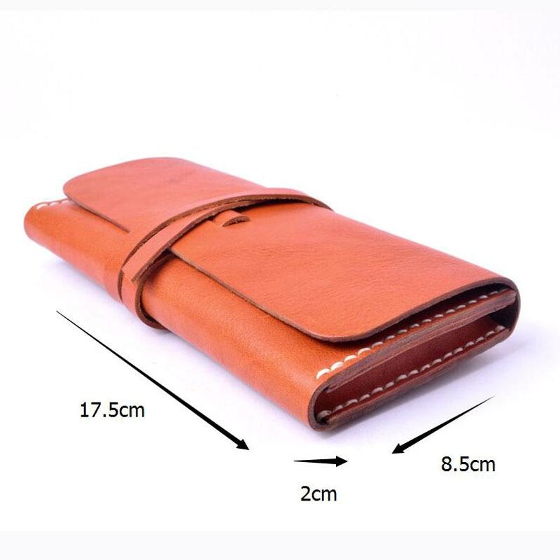 AETOO läder plånbok wome lång sektionsspänne manuell - Plånböcker - Foto 6