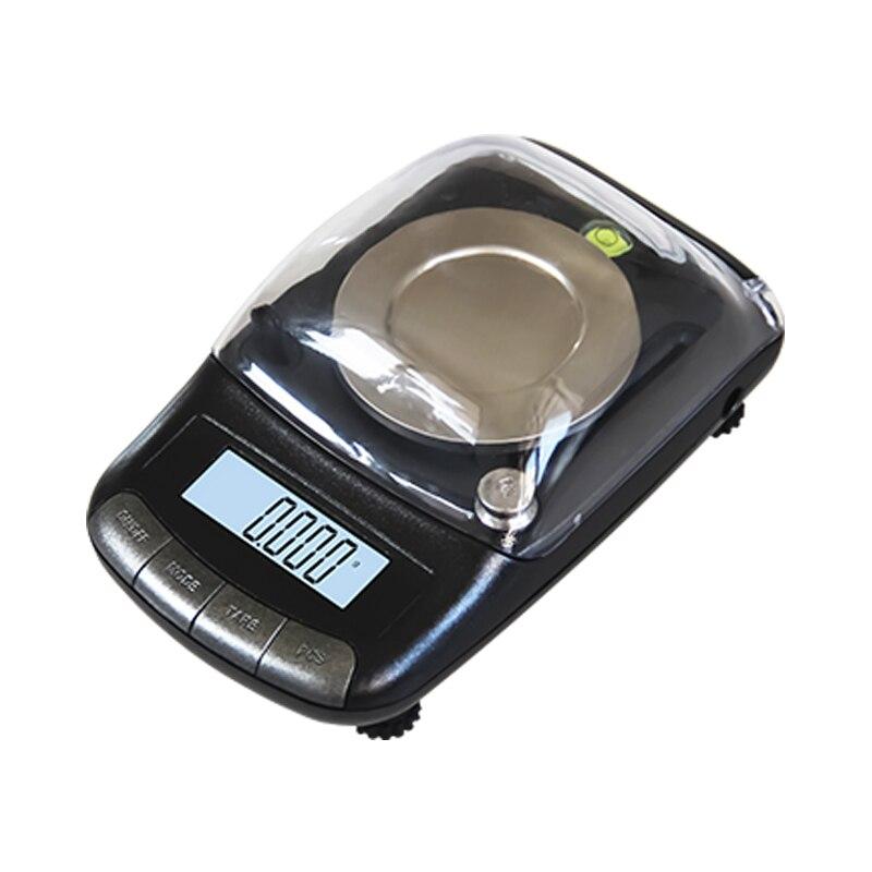 50g * 0.001g Mini Balance électronique Balance numérique Portable de haute précision pour les outils de pesage de bijoux de laboratoire médical