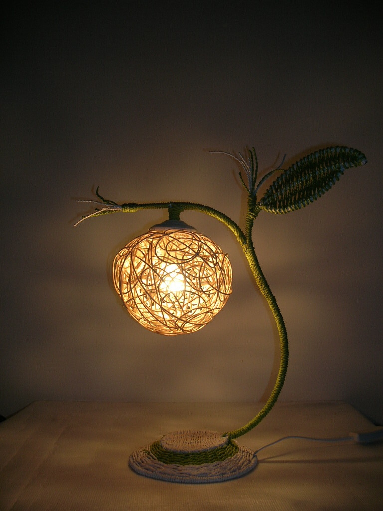 Rattan table lamp bedside lighting bedroom lamp decorative lamp ...