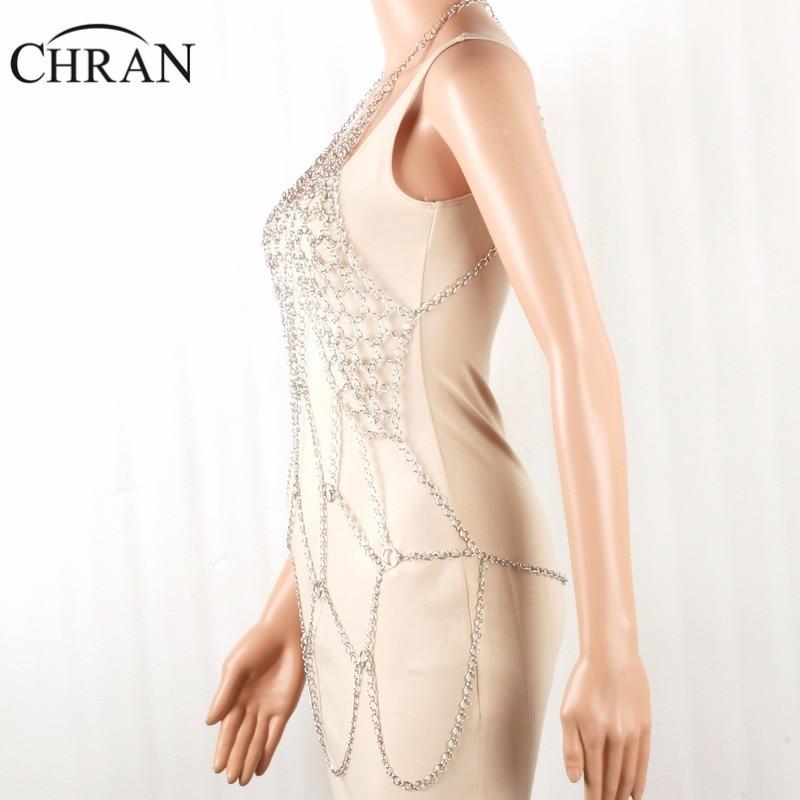 Detail Feedback Questions about Chran Beach Chain Bra Dress Halter ... 693f5c1e1871