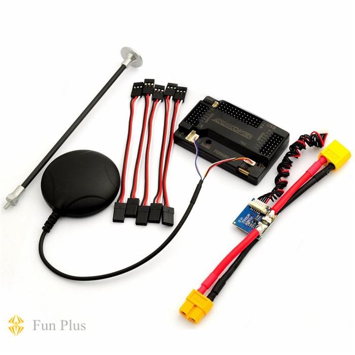 Apm v2.8.0 ardupilot uavフライトコントローラapm2.8 ublox neo 6m gps & pm用multicopter飛行機  グループ上の おもちゃ & ホビー からの パーツ & アクセサリー の中 1