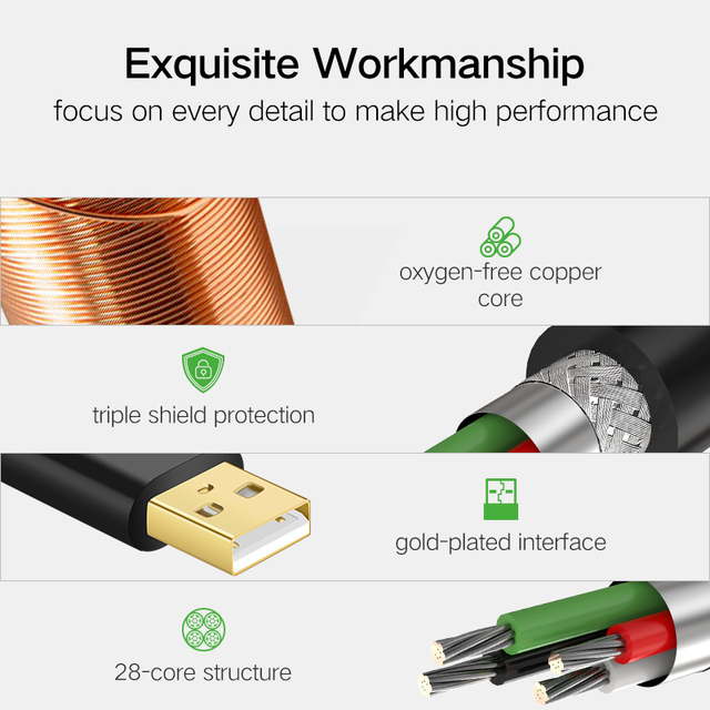 Universal 3.0 USB Extension Cable