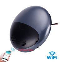 Mini Smartphone WIFI APP Control Aspiradora Robot Vacuum Cleaner With Music Playing,Auto Recharged,Remote Control,Schedule