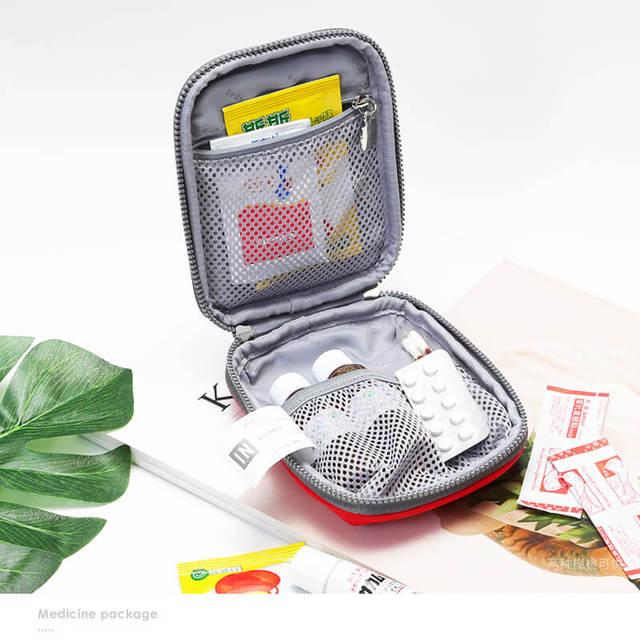 Mini First Aid Kit de Viagem de Acampamento Saco Médico Curativo Esportes Família Saco Tático Militar De Sobrevivência De Emergência Kit de Primeiros Socorros Do Carro