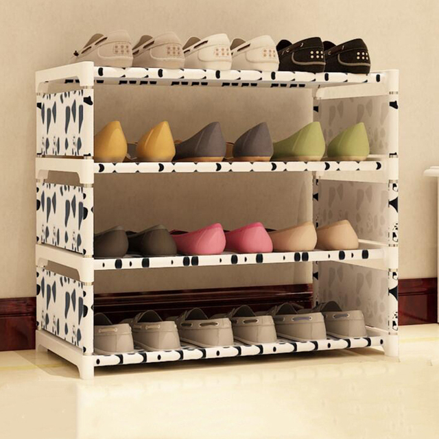 Delicieux 1Set Storage Shoe Cabinet Easy To Install Multi Layer Shoes Racks DIY Shoe  Shelf Non