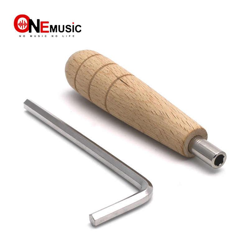 4 مللي متر الصوتية الكلاسيكية الغيتار تروس قضيب تعديل عرافة أداة مفتاح الربط مع مقبض خشبي