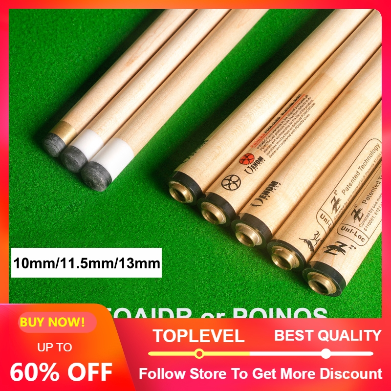 2019 PREOAIDR 3142 Pool Cue Shaft POINOS Pool Stick Shaft 10mm 11 5mm 13mm Tip Canadian