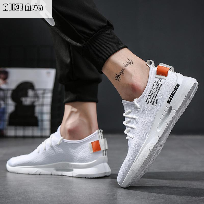 Shoes Aike Asia New Fashion Trend Mens Brand Casual Shoes Low To Help High-end Canvas Shoes Mens Apartment Large Size Fashion Shoes Oxfords