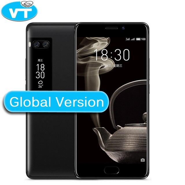 Meizu Pro 7 плюс глобальная версия 64 г 128 г Встроенная память 4 г LTE Дека Core 5.7 дюймов 2 К экран двойной Сзади 12.0 м Быстрая зарядка сотового телефона Wi-Fi GPS