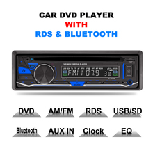 RK-8828B Fijo panel 4*52 W 7388IC Coche DVD Radio Bluetooth AM FM RDS receptor VCD CD MP3 SD USB 12 V Uno Din Car Multimedia Player