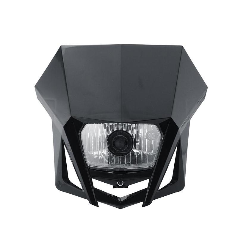 8.5 Universal Motorcycle Side-mounted Matte Black Dual