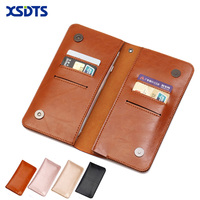Wallet Mobile Phone Case With Card Slot For IPhone 6 6S 7 Plus 5S SE For