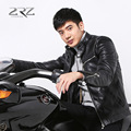 Winter wear new locomotives leather men's leather jackets with velvet collar cultivate one's morality with thick fur