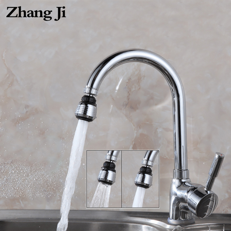 ZhangJi VIP Link 1000 Pieces Kitchen Faucet Aerator Plastic chrome plating Nozzle Faucet Connector Bubbler