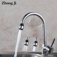 ZhangJi VIP Link 1000 Pieces Kitchen Faucet Aerator Plastic chrome plating Nozzle Faucet Connector Bubbler