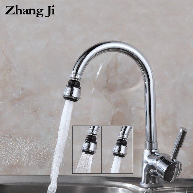 ZhangJi VIP Link 1000 pièces cuisine robinet aérateur en plastique chromé buse robinet connecteur barboteur