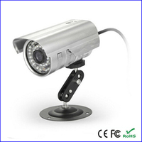 Outdoor waterdichte cctv video/audio recorder dvr camera tf card loop opname