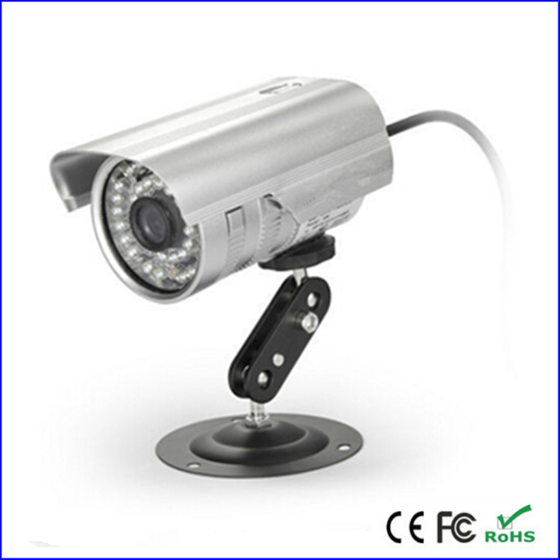 outdoor waterproof cctv security video/audio recorder dvr camera tf card  loop recording