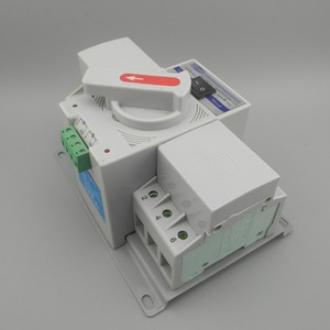 Image 3 - 3P 63A 380V 50/60hz 3 wire MCB type Dual Power Automatic transfer switch ATS