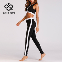 Women Yoga Fitness Sports Bra Sets Gym Workout Sportswear 2pcs/set Tracksuits Sleeveless Tank Top+Printed Yoga Pants Sport Suits