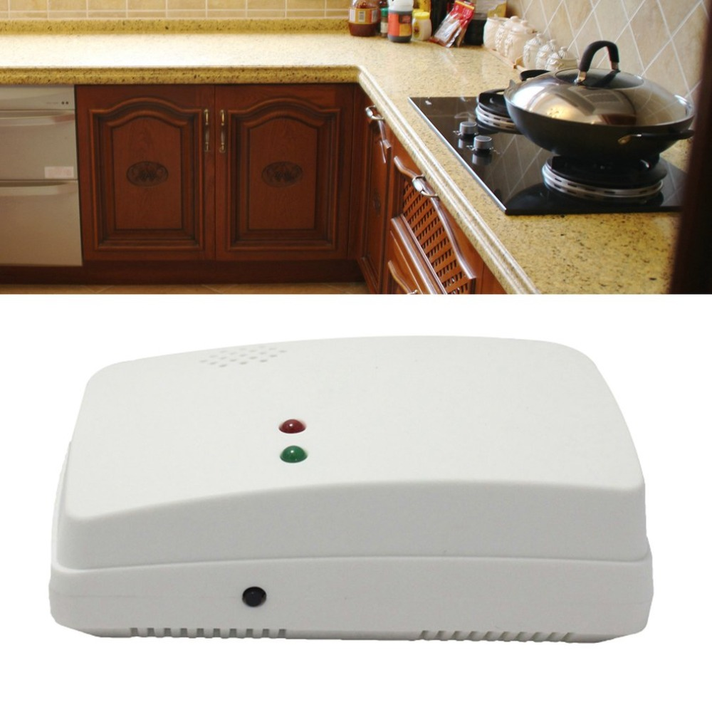 Wall Mounted Alarm Combustible Gas Detector Liquefied Gas Leak Detection Alarm Home Security Alarm System Fire Protection wall mounted alarm combustible gas