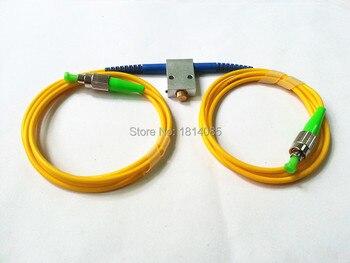 Mechanical Variable Adustable Optical Singlemode 1260-1650nm FC/APC Fiber Attenuator 0-60dB VOA фото