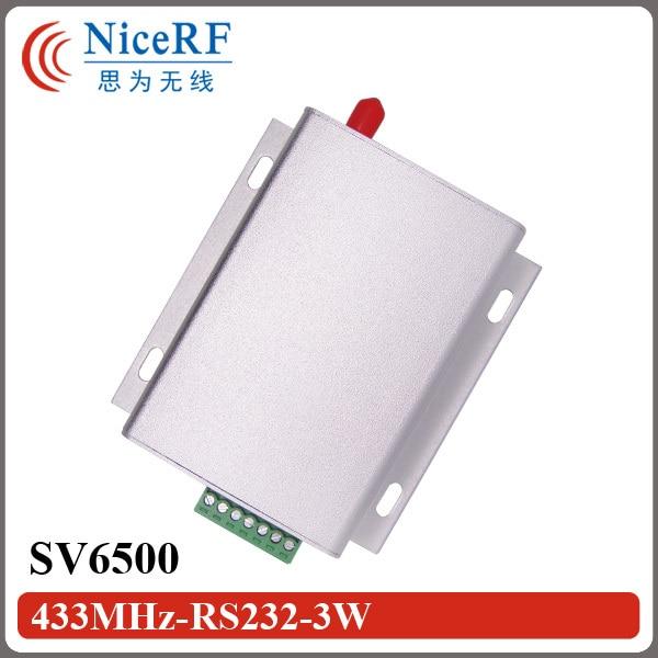 2бр SV6500 8км разстояние 5W мощност RS232 - Комуникационно оборудване - Снимка 2