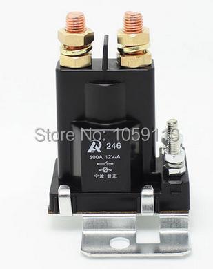 все цены на 1PCS 500A DC contactor relay large current total power 12V car modification онлайн