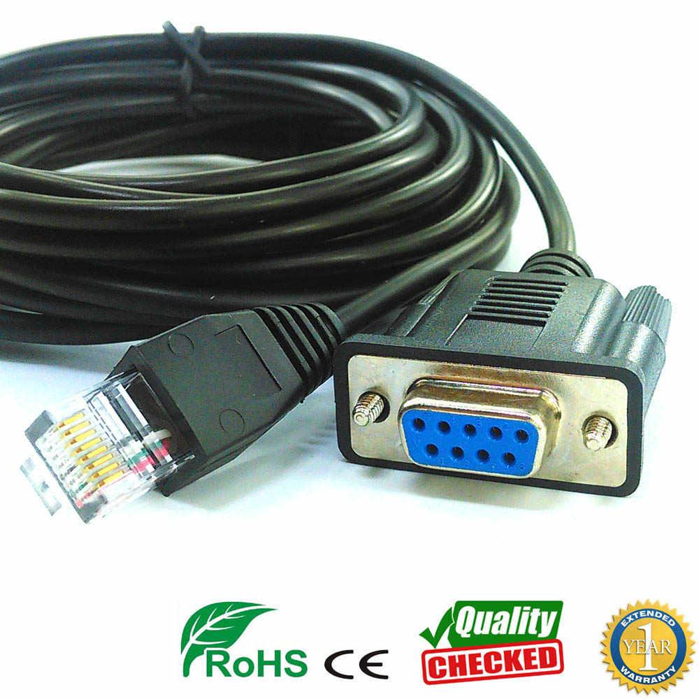 customized rs232 db9 to rj11 rs232 to rj12 rj9 rj25 rj45 serial cable [ 1000 x 1000 Pixel ]